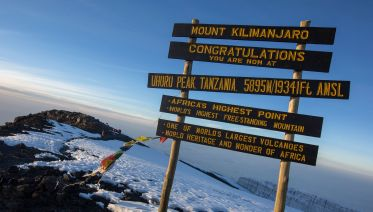 9 Day Kilimanjaro trekking through Northen circuit route