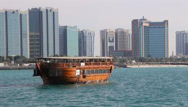 Abu Dhabi Marina Dhow cruise Sightseeing Tour