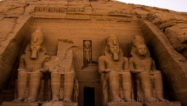 Abu Simbel from Aswan by Flight day tour