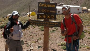 Aconcagua Base Camp Hike