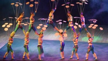 Acrobatics Show In Beijing (Night Tour)