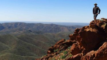 Adelaide to Alice Springs Overland