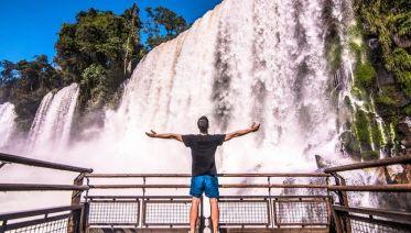 Afternoon Brazil Iguazu Falls Tour (Arg to Arg)