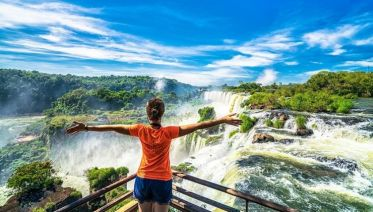 Afternoon Brazil Iguazu Falls Tour (Bra to Bra)