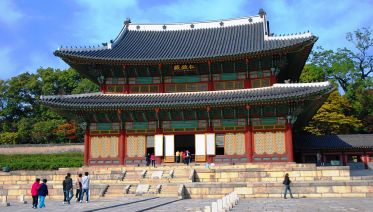 Afternoon tour of  Palace and Palgakjeong