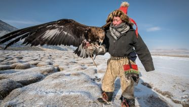 Altai And Eagles
