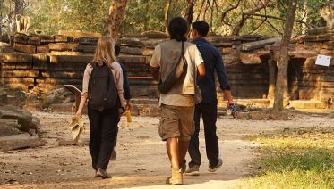 Angkor Wat Hiking/Walking Tour