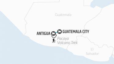Antigua & Pacaya Volcano Experience 3D/2N