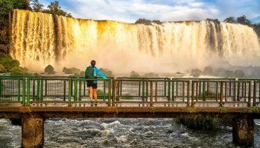 Argentina Iguazu Falls Day Trip (Arg to Bra)