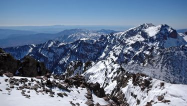 Ascend Mt. Toubkal During Winter