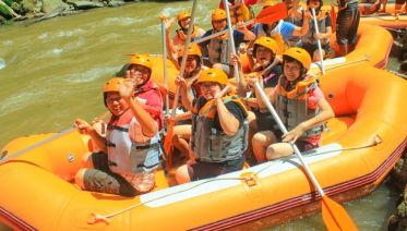Ayung River Rafting - Ubud Village Tour - Spa