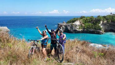Bali, Bike, Beach