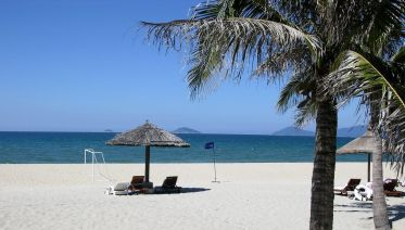 Beach Relaxation At Hoi An