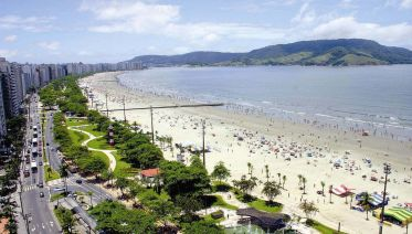 Beach tour to santos and guarujá