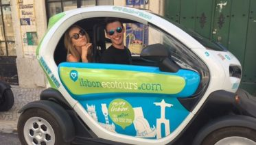 Belem & Downtown Tour by Electric Twizy with Audio Guided