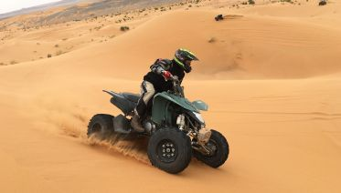 Best Of Dubai Desert Safari Quad Bike & Dune Bashing
