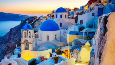 Best of Italy and Greece and Santorini