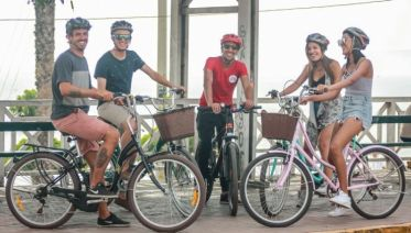 Bike Tour and Surf Lessons in Lima