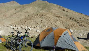 Biking India's Nubra Valley