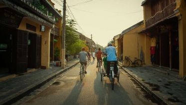 Biking to Lantern making Village half Day