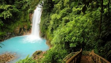 Blue River & Tenorio Volcano National Park Tour