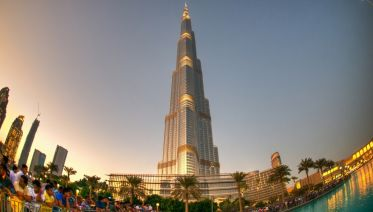 Burj Khalifa at the top (ticket only)