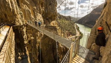 Caminito del Rey Day Tour from Costa del Sol