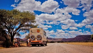 Cape Desert Safari Southbound Accommodated