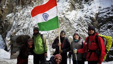 Chadar Frozen River Winter Trek