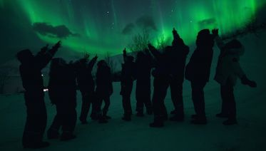 Chasing Northern Lights By Bus