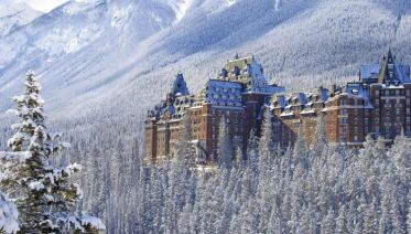 Christmas in the Rockies at Banff
