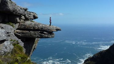 Climb Table Mountain Via Kasteelspoort Ridge
