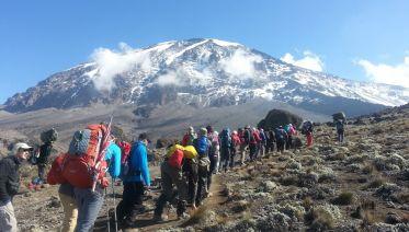 Climbing Kilimanjaro 5-Day Marangu Route