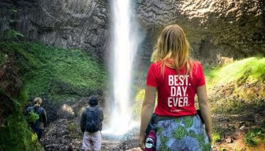 Columbia Gorge Meditative Waterfalls Scenic Tour