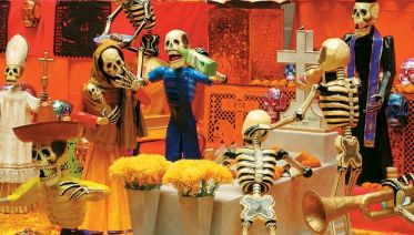 Contrasts of Mexico - Day of the Dead Festival