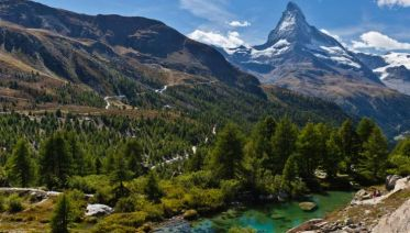 Contrasts Of Switzerland
