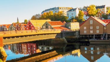 Copenhagen to Northern Norway