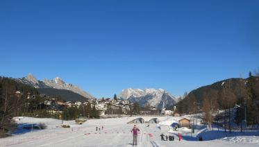Cross-country Skiing In Seefeld