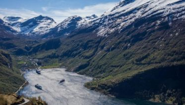 Cruise the Norwegian Fjords