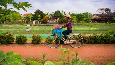 Cycle And Cook At Tra Que Vegetable Village