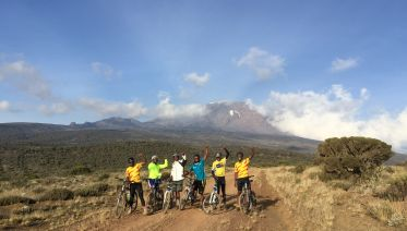 Cycle Kilimanjaro Shira Plateau