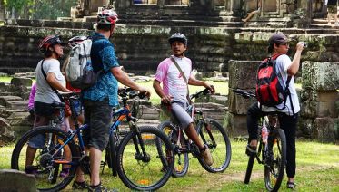 Cycle The Angkor Wat Sunrise Tour