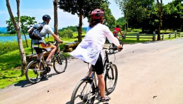 Cycling Coastal Thailand