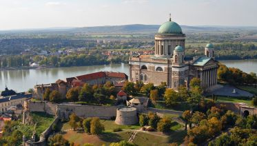 Danube Bend Tour From The Air