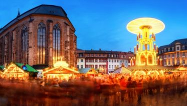 Delightful Christmas Markets in the Necker Valley and Fairytale-like Rothenbourg ob der Tauber (port-to-port package)