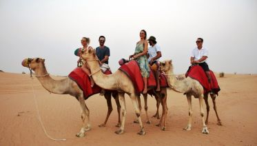 Desert Trek on Camel-Back & Arabian Breakfast