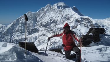 Dhampus Peak Climb