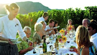 Dinner in the Chianti Vineyards from San Gimignano