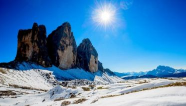 Dolomites Winter Walking