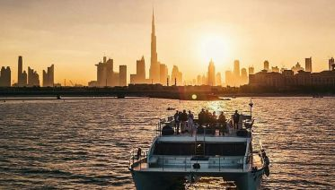 Dubai Canal Dinner Cruise